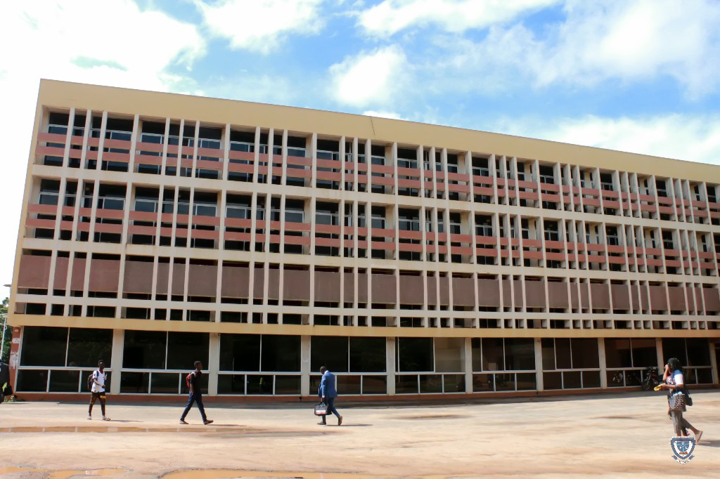 One of the buildings at Université d'Abomey-Calavi (UAC), Benin Republic captured during the 7th Conference and 9th AGM of the Association of West Africa Universities held in Benin Republic