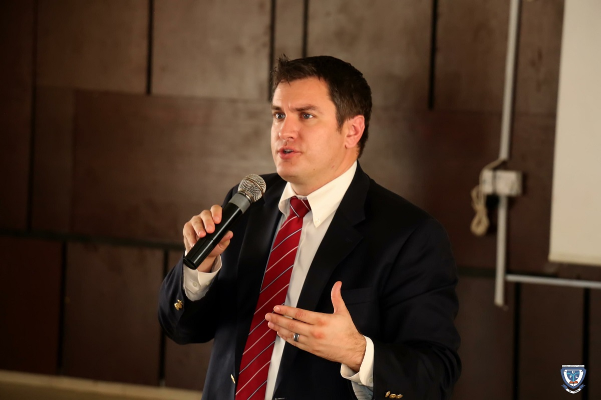 Mr. Laurence J. Socha, Cultural Affairs Officer, Public Affairs Section, U.S. Embassy in Nigeria