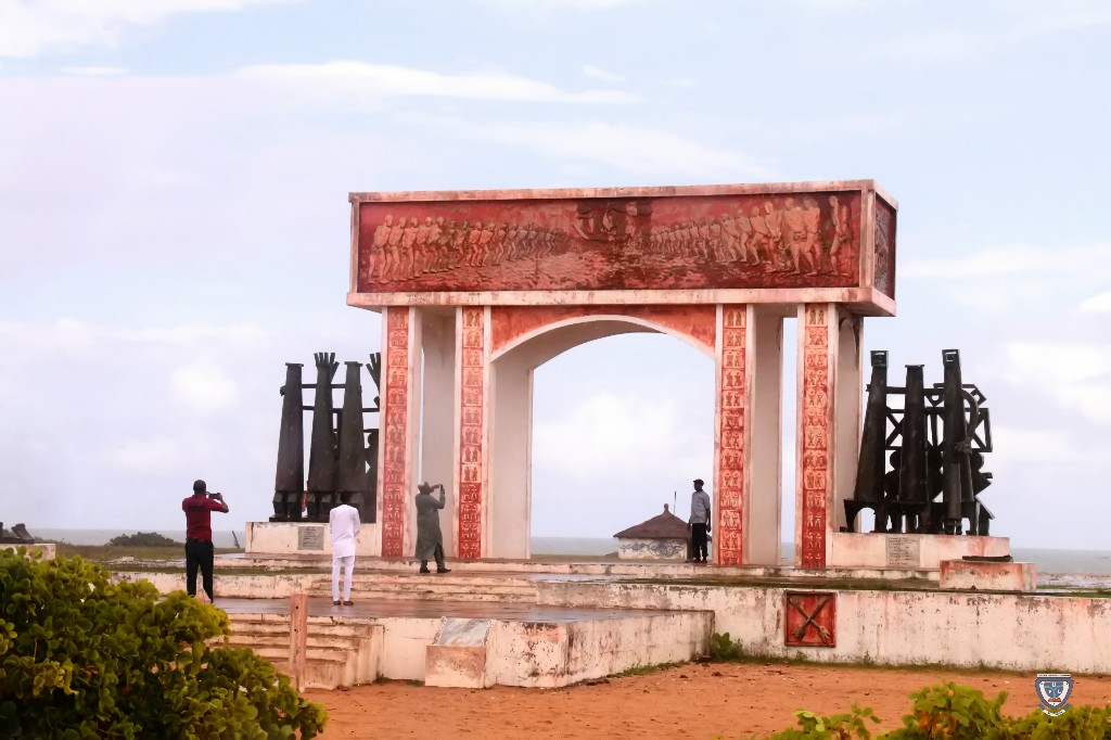 Sightseeing: One of the tourist sites visited during the 7th Conference and 9th AGM of the Association of West Africa Universities held in Benin Republic