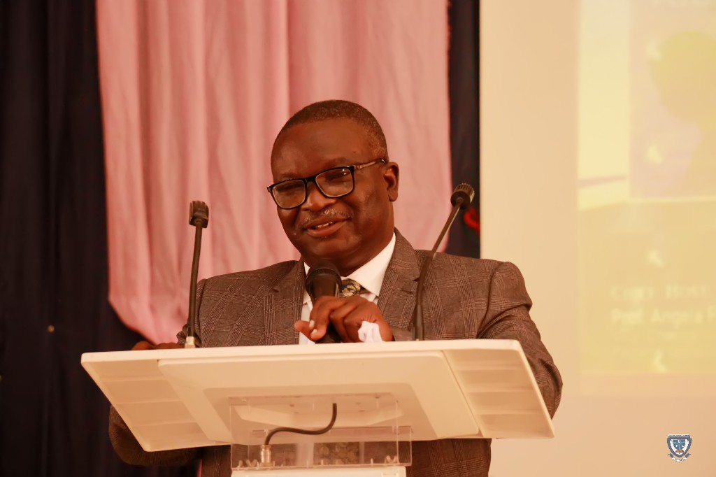 Book Presenter, Honourable Justice Alaba Omolaye-Ajileye, Judge of the High Court of Kogi State during the Book Presentation