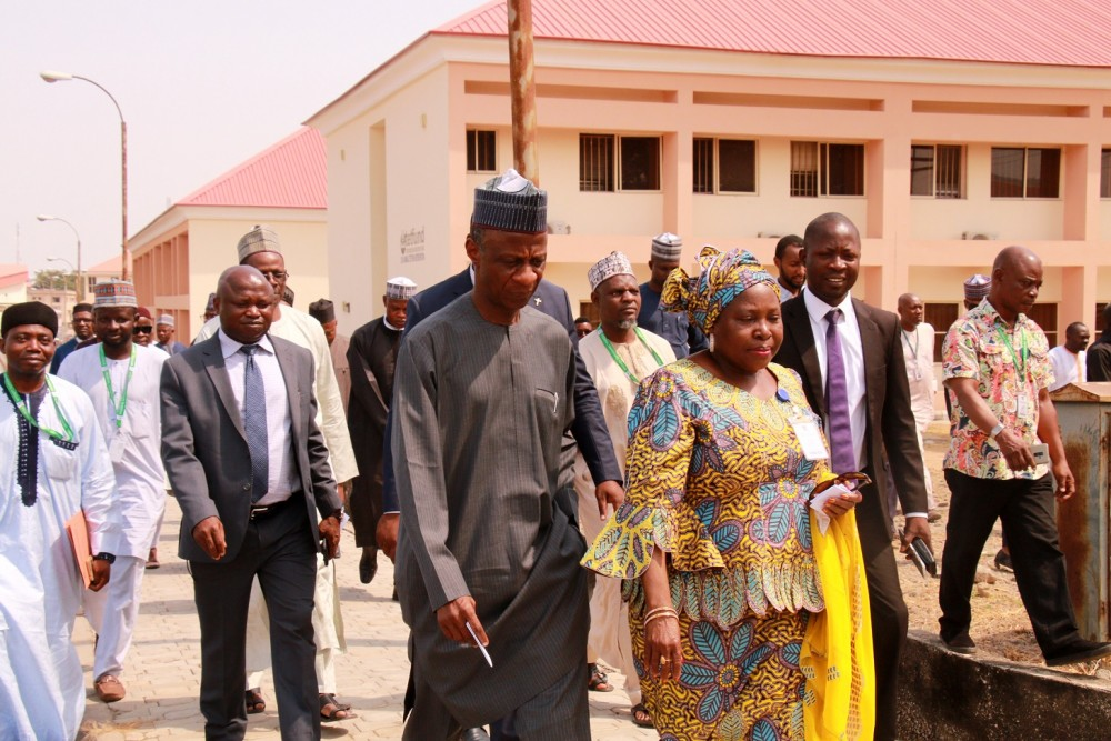 Photo News: Tetfund Executive Secretary, Prof. Bogoro Commissions Projects In Federal University Lokoja (ful)